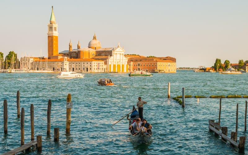 Venezia, una della città sognata fotografia stock