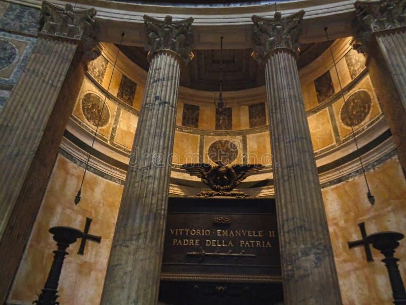 Venezia victorien de place à Rome à l'intérieur du bâtiment images stock