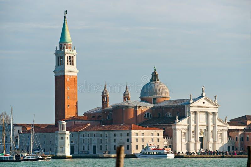 Venezia, vista del maggiore del San Giorgio. fotografie stock