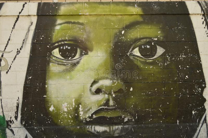 Venezolanische städtische Kunst, Maracay lizenzfreie stockbilder