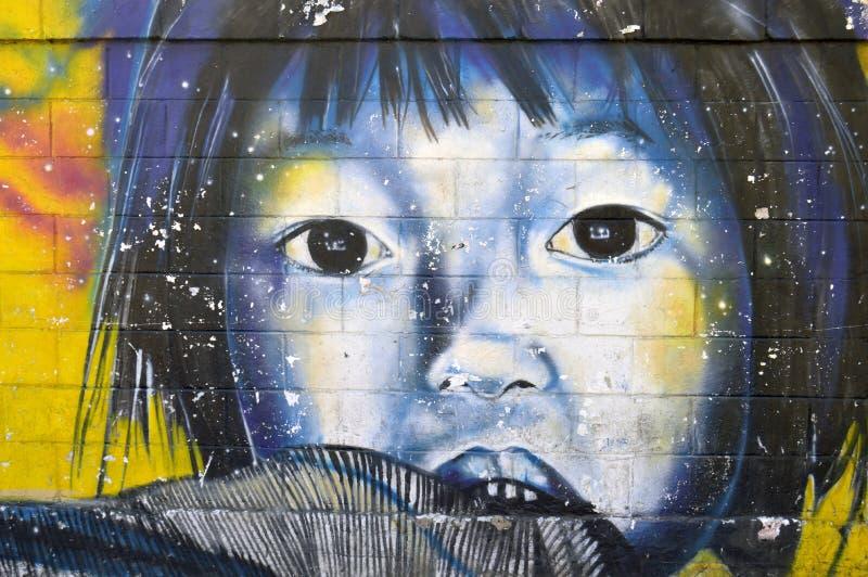 Venezolanische städtische Kunst, Maracay lizenzfreies stockbild