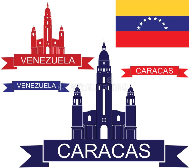 venezuela stock illustrationer