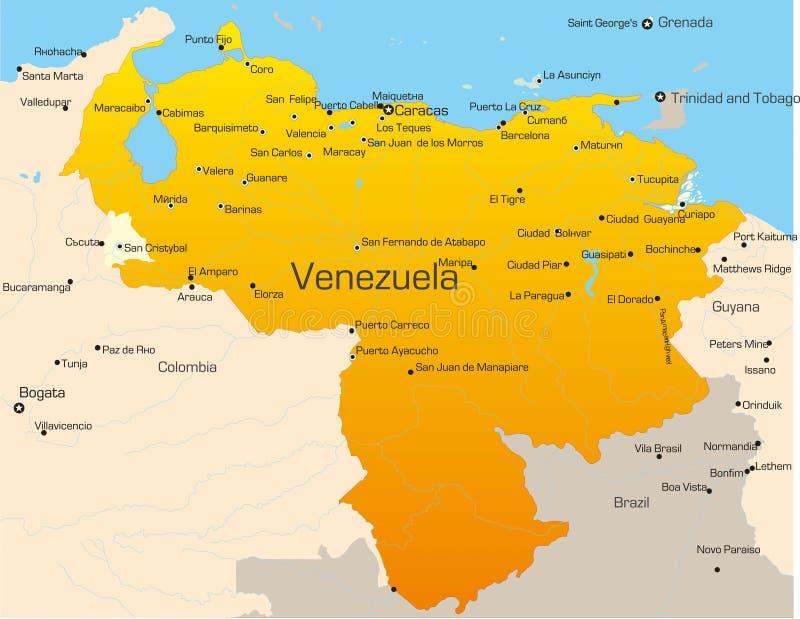 Venezuela stock illustratie
