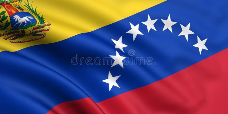 Venezuela bandery ilustracja wektor