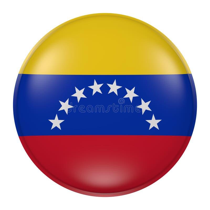 Venezuela knapp stock illustrationer