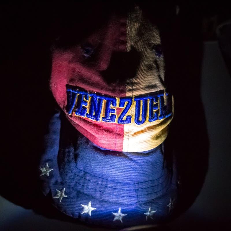 Venezuela na obscuridade fotos de stock