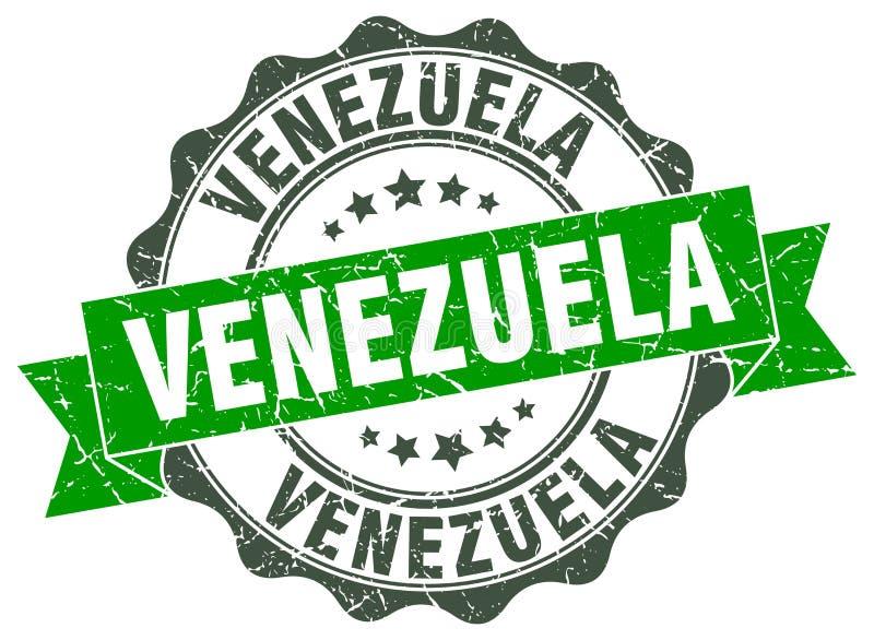 Venezuela om lintverbinding royalty-vrije illustratie