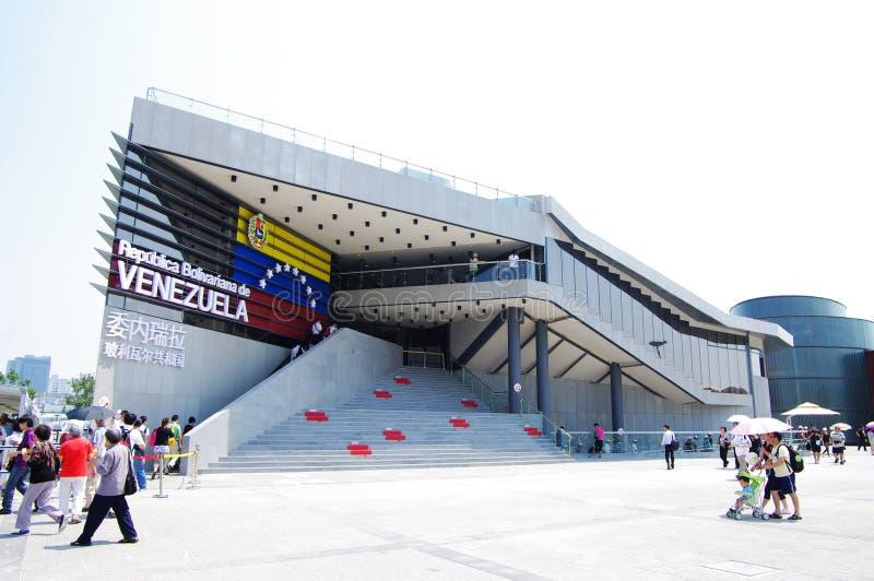Venezuela Pavilion in Expo2010 Shanghai China royalty free stock photo