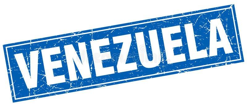 Venezuela stämpel stock illustrationer