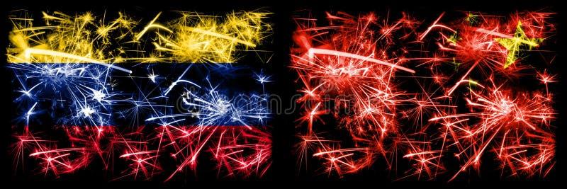 Venezuela, Venezuelan, China, Chinese first round group A basketball world championship competition games. Venezuela, Venezuelan, China, Chinese first round stock illustration