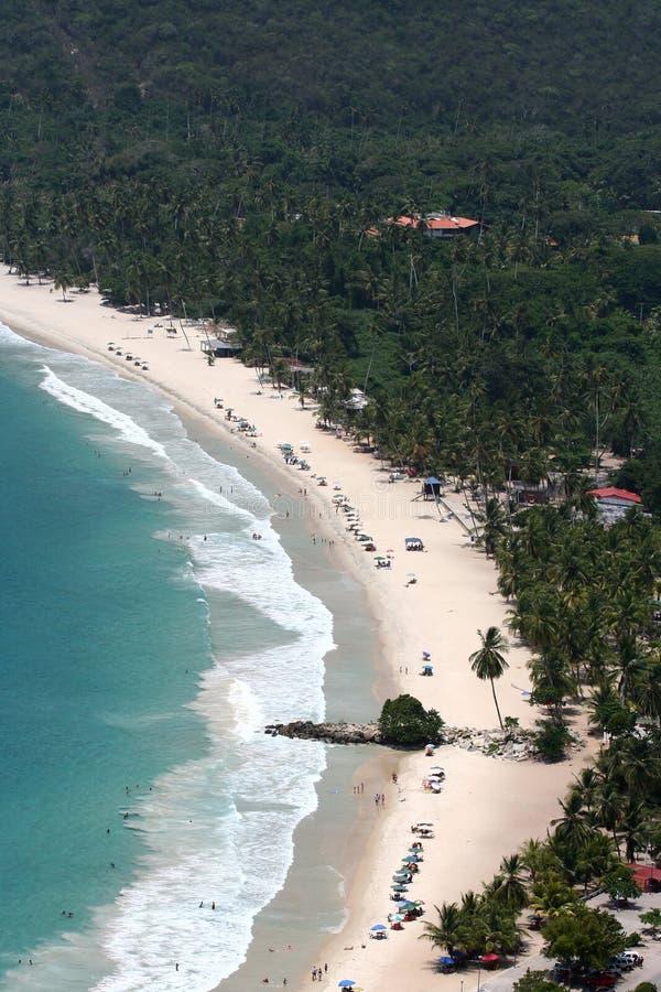 Venezuelanische karibische Küste stockfotos