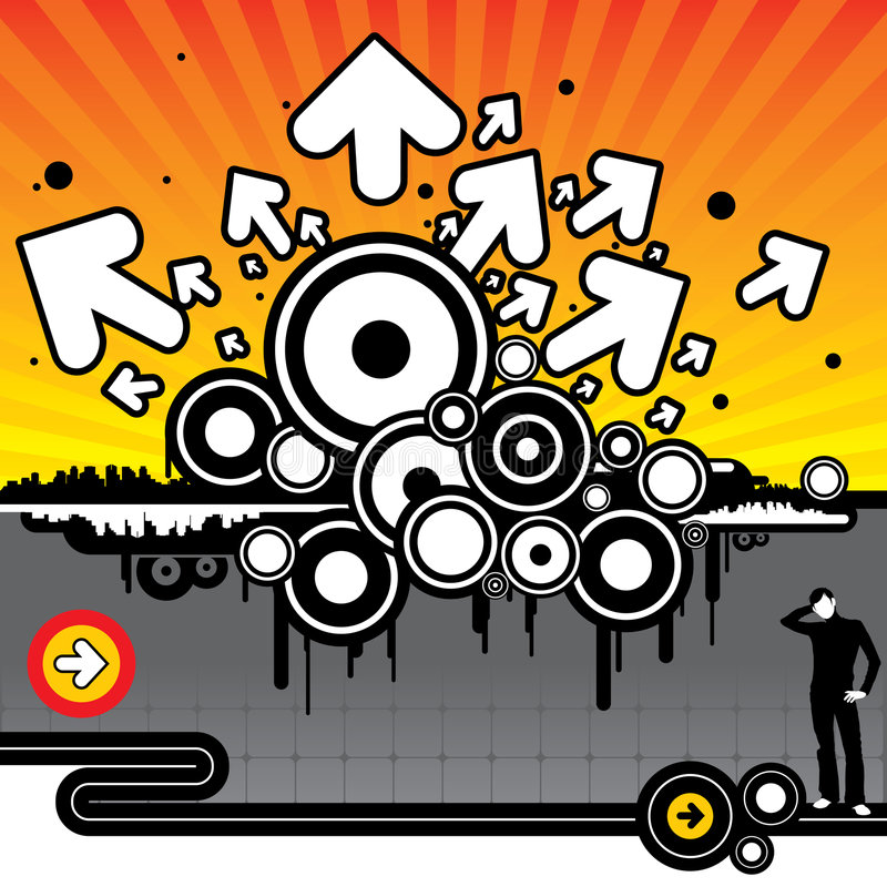 Venganza gráfica libre illustration