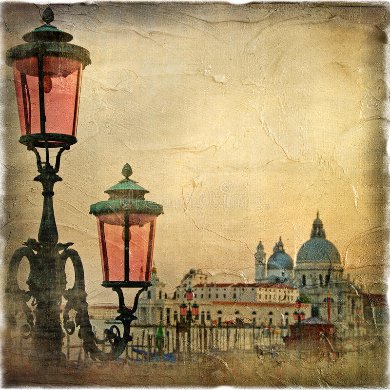Download Venice stock photo. Image of artistic, bridge, paint - 10921386