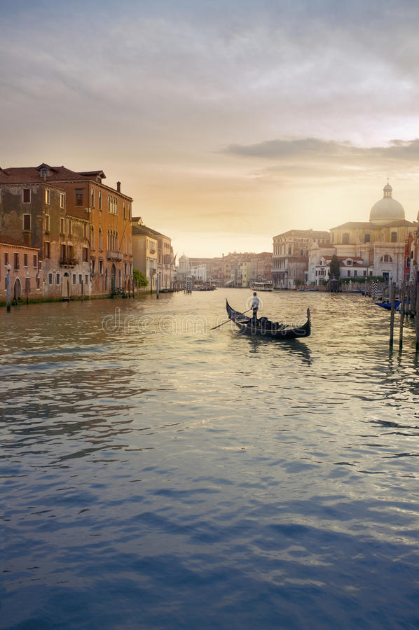 Download Venice stock photo. Image of canal, sunset, italy, water - 19759466