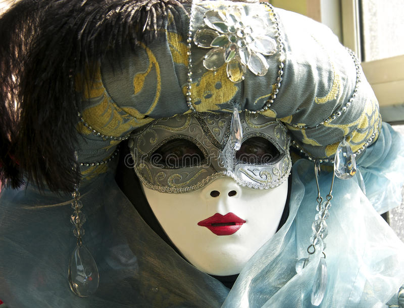 Venice 2012 carnival mask royalty free stock image