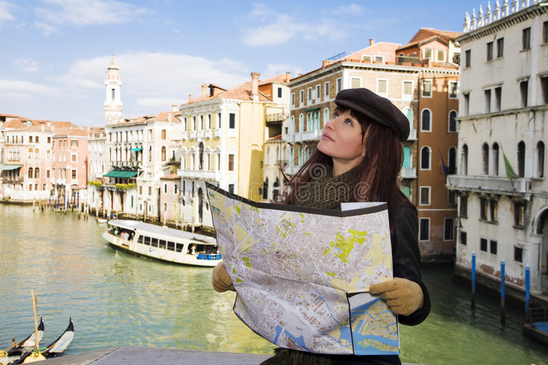Download Venice stock photo. Image of direction, people, attractive - 4363738