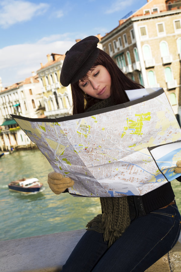 Download Venice stock image. Image of girl, outdoors, person, destinations - 4389093