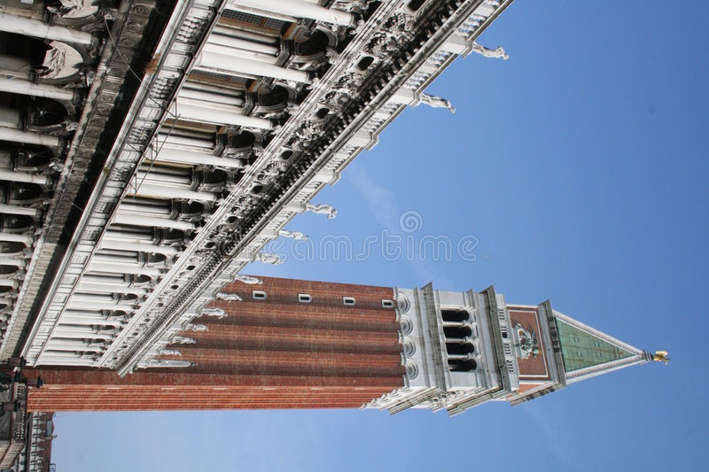 Venice. Campanile royalty free stock images