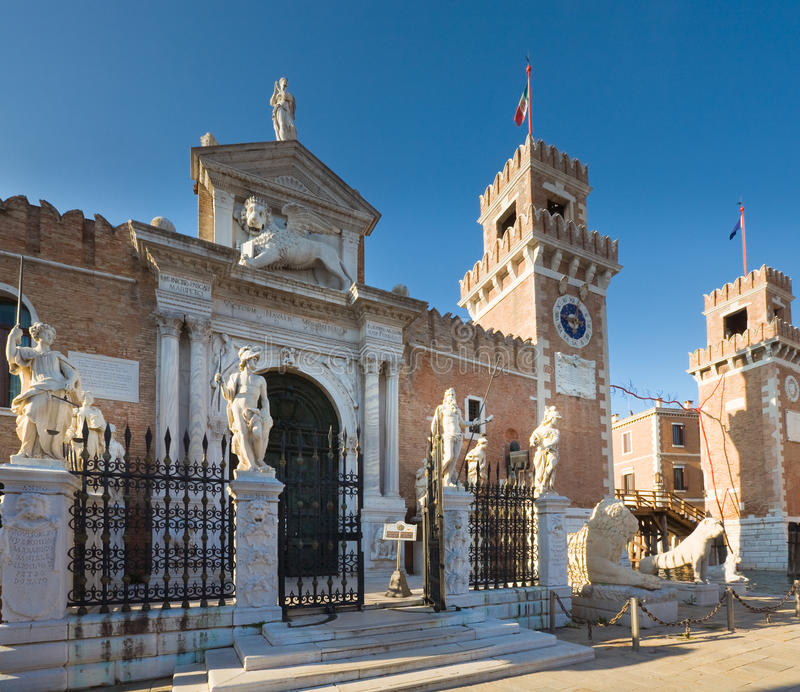 Download Venice Arsenal And Naval Museum Entrance Stock Photo - Image: 24537988