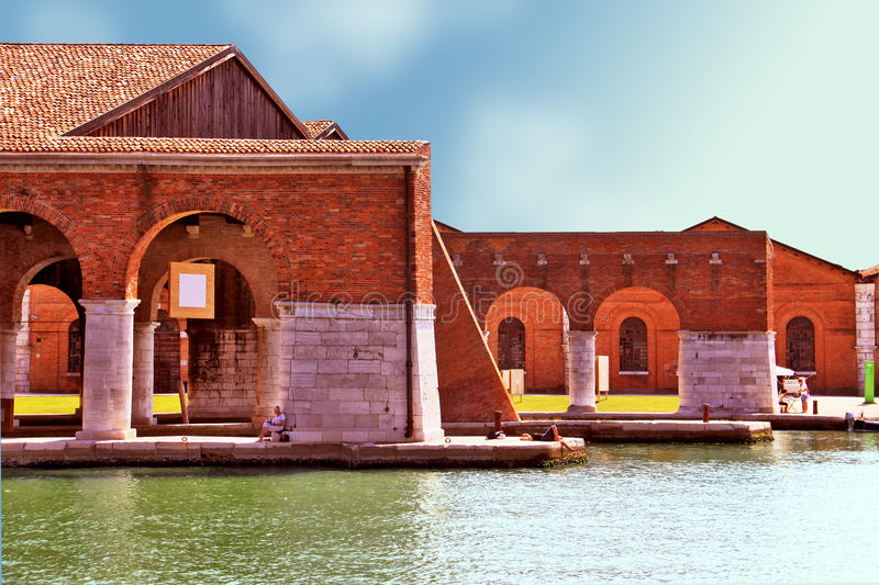 Download Venice, Arsenale - Inner Harbour Editorial Photo - Image: 22151481