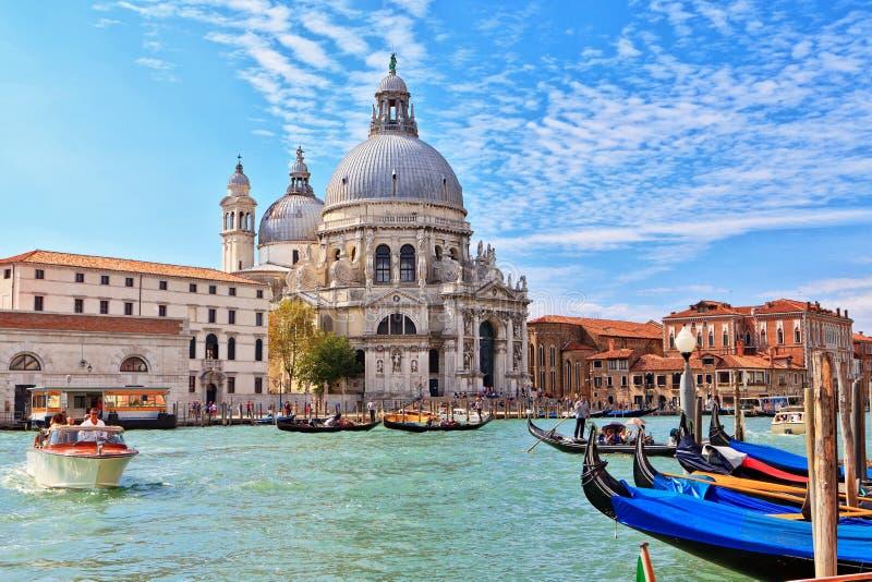 Venice - Basilica di Santa Maria della Salute stock image