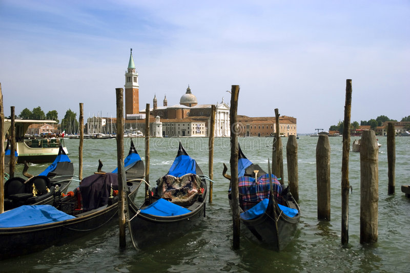Venice bay stock photo