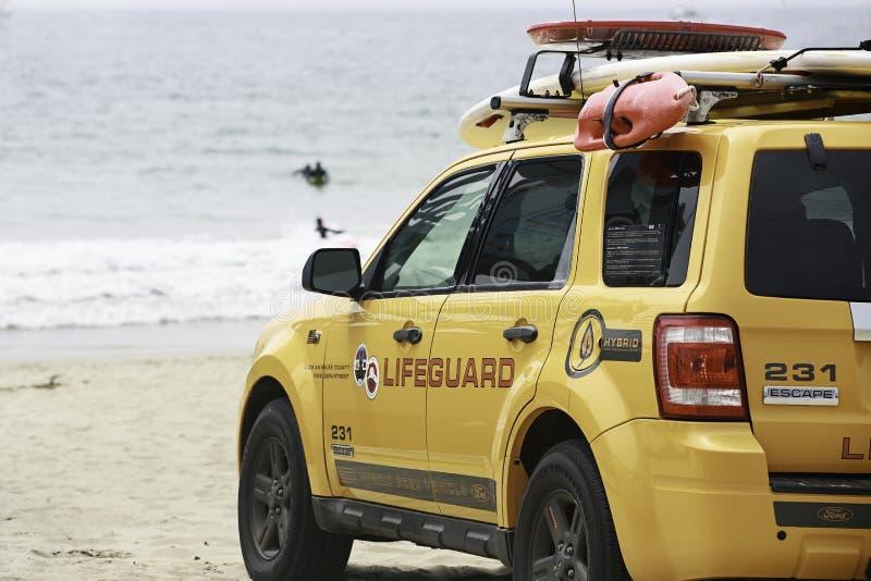 Download Venice Beach Lifeguard editorial stock image. Image of sand - 33420594