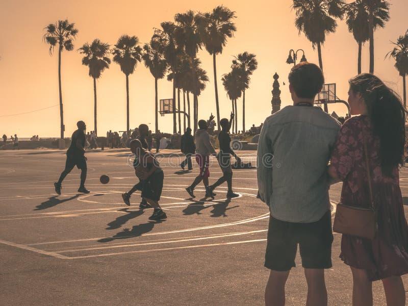 Venice Beach Love Story obrazy stock