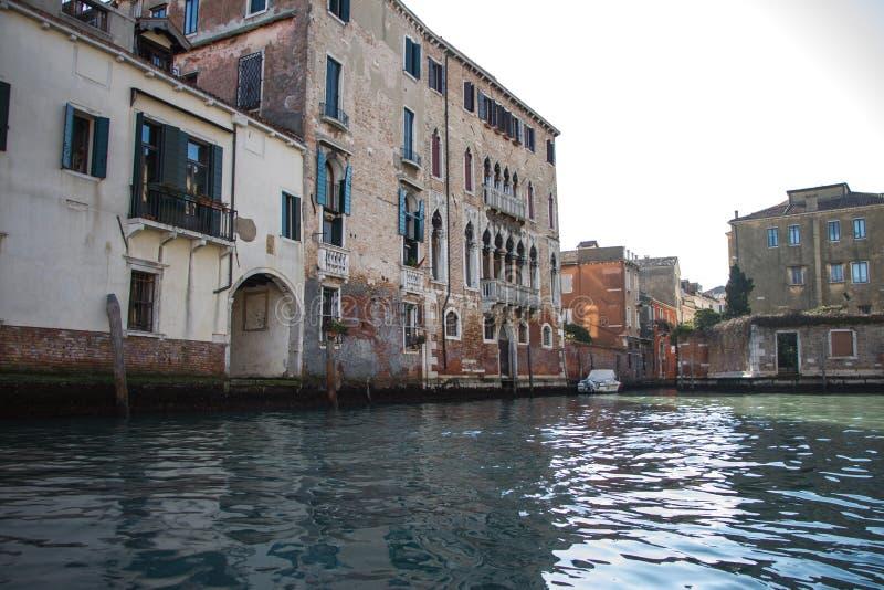 Venice by boat stock photo