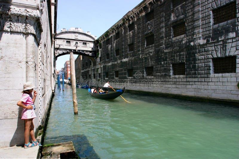Venice canal royalty free stock photo