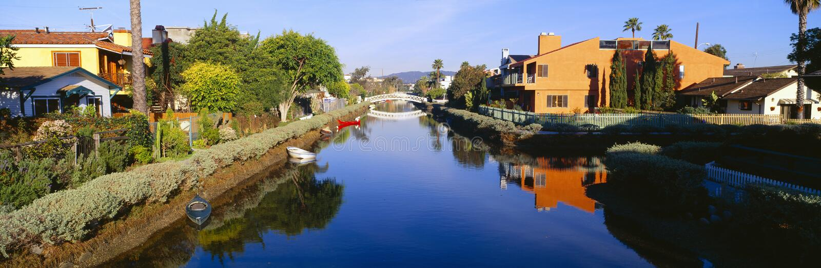 Download Venice canal stock photo. Image of center, angeles, panorama - 23173344