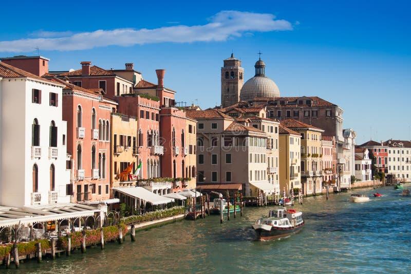 Venice Canal. On a sunny day stock photos