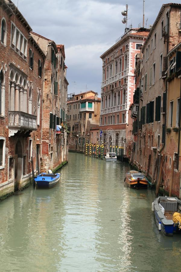Download Venice canal stock photo. Image of over, walkway, stonework - 25318536