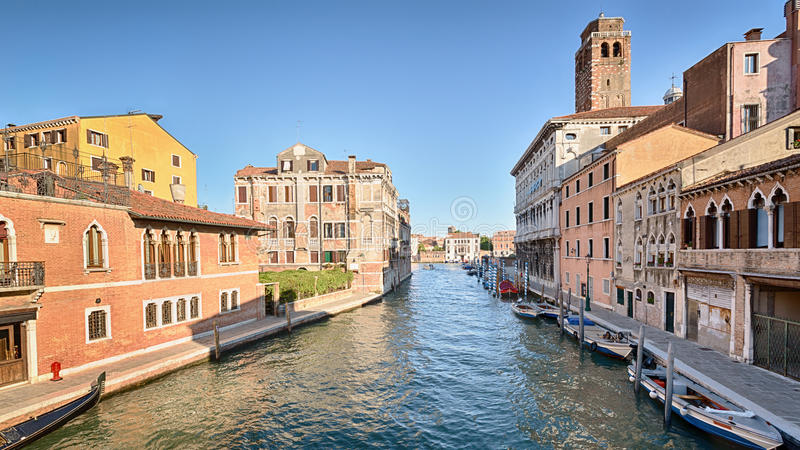 Venice Canal and Buildings royalty free stock images