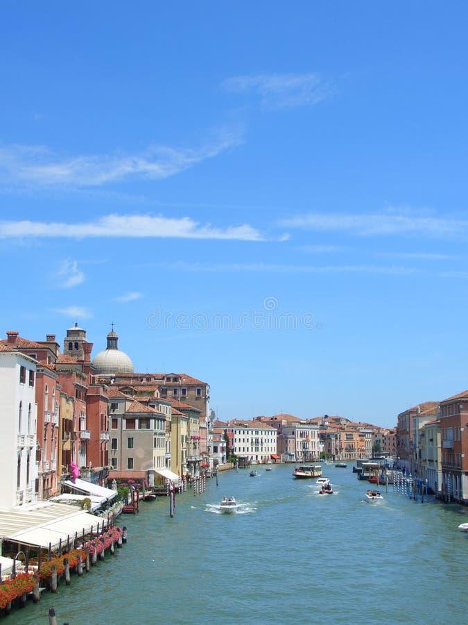 Venice, Canal Grande, Vertical Stock Photo