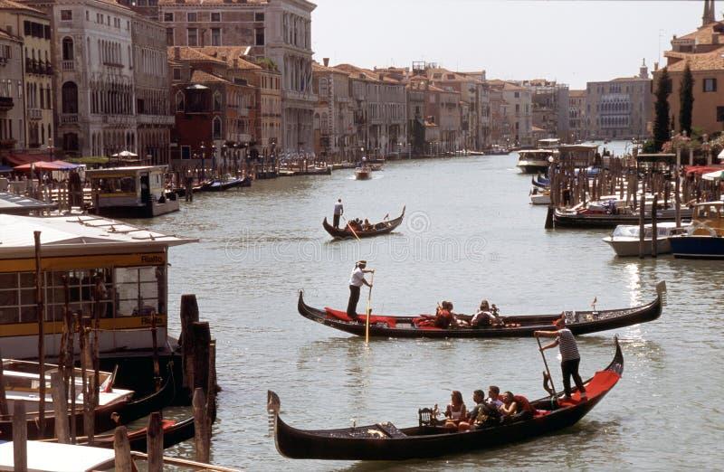 Venice32. Venice - Canal grande, view from Rialto bridge royalty free stock photo