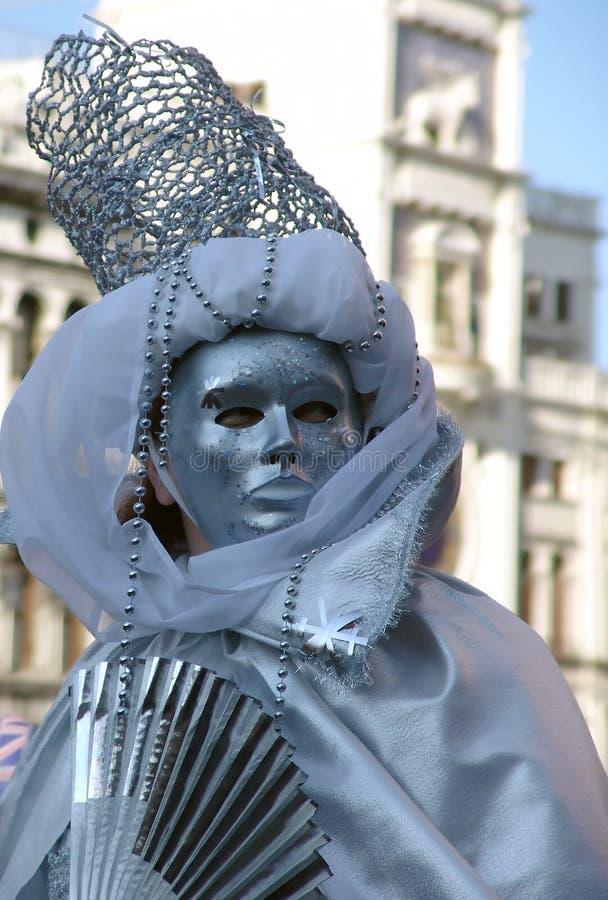 Venice carnival 3. Man in mask from Venice stock photo
