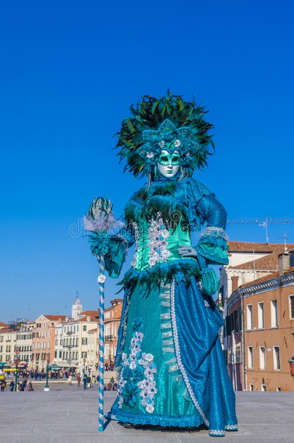 2019 Venice carnival stock images