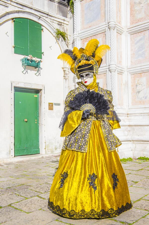 2019 Venice carnival royalty free stock photo