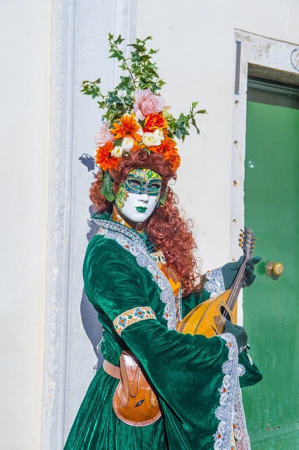 2019 Venice carnival royalty free stock image