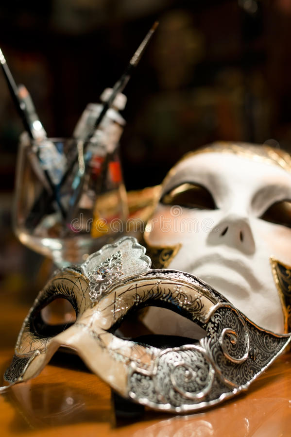Download Venice carnival mask stock image. Image of nobody, atelier - 23458347