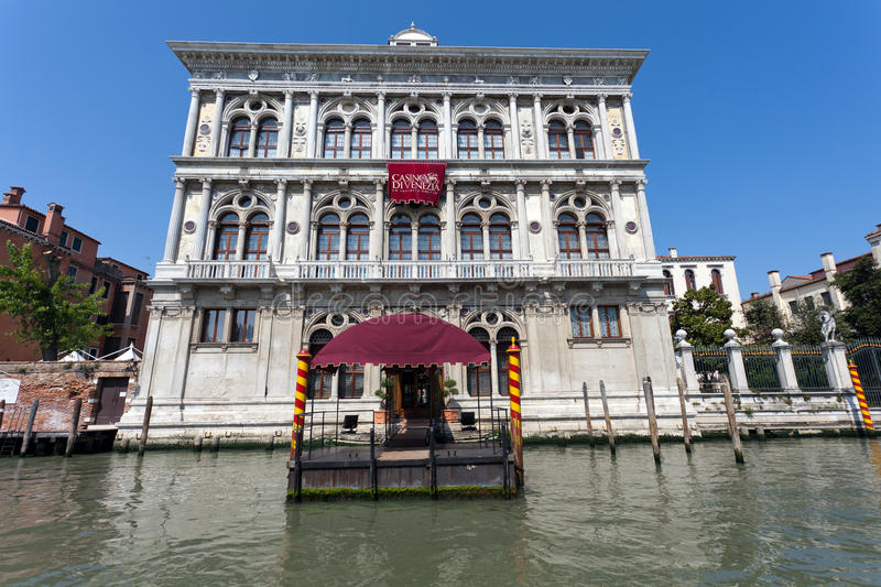 Venice Casino. The very first casino was established in Venice. And the magical city built on water still preserves the oldest gaming house in the world. Opened stock photography