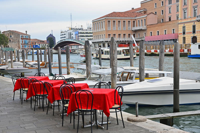 Download Venice: channel terrace stock image. Image of gran, grand - 21989925