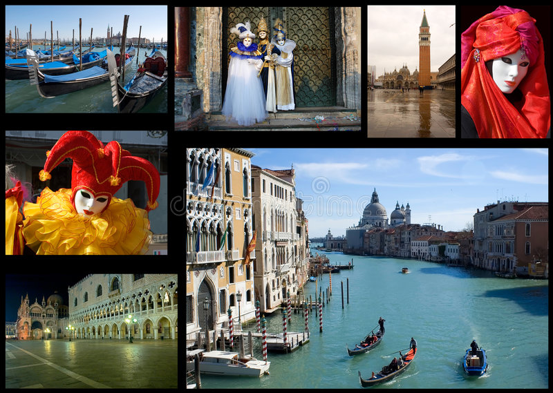 Download Venice Collage Stock Images - Image: 6451544