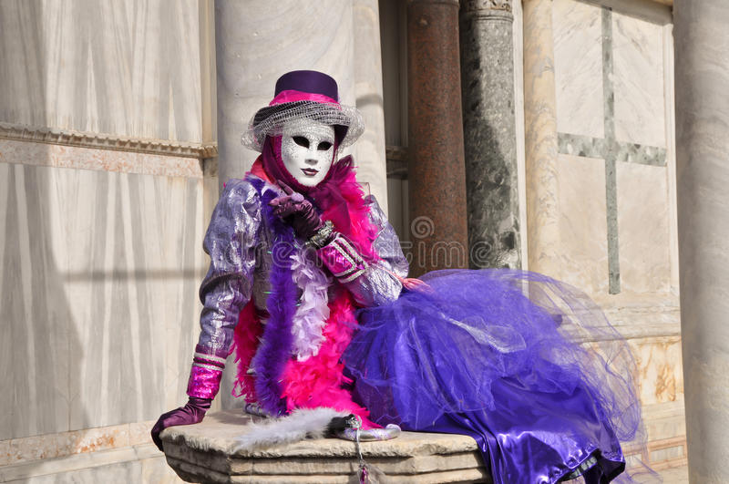 Venice costume 3 royalty free stock images