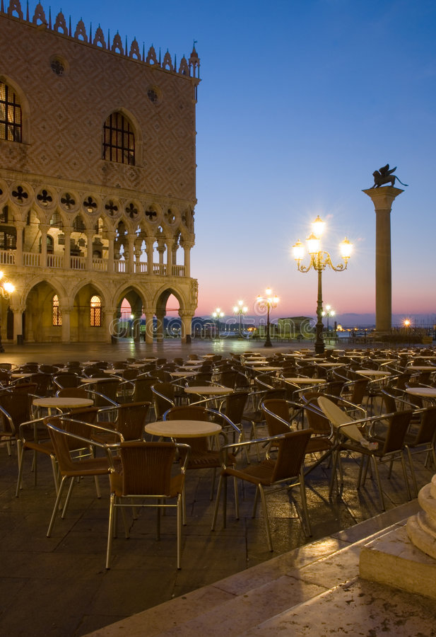 Download Venice at dawn stock image. Image of saint, piazza, outdoor - 2528985