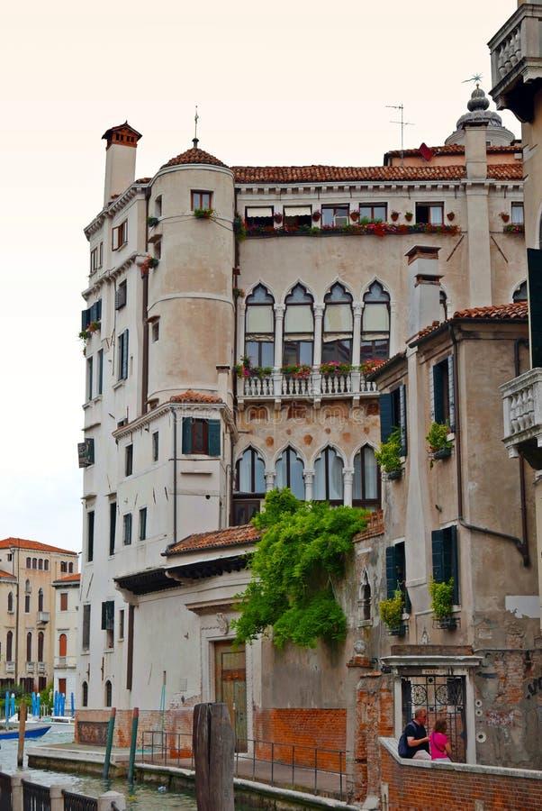 Venise canal, Italy stock photos