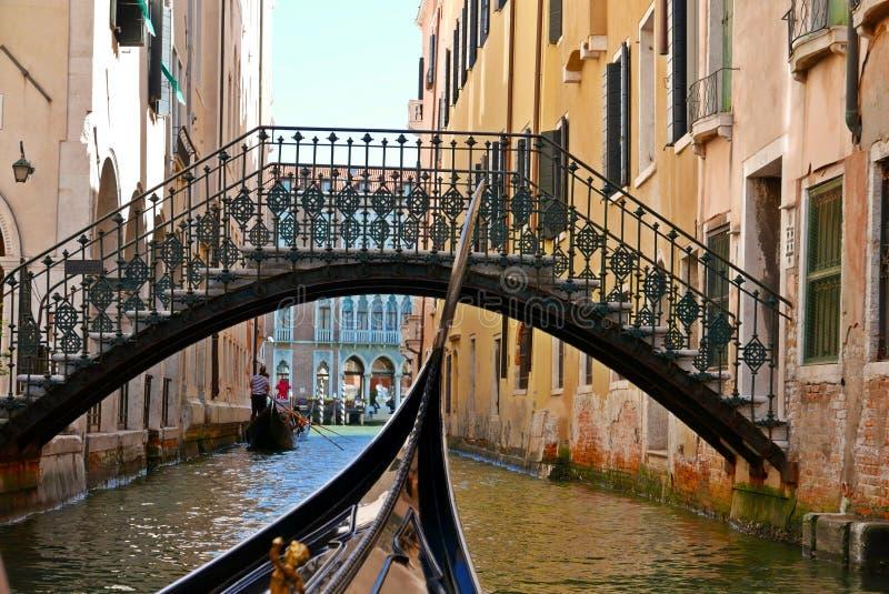 Venise canal, Italy stock photo