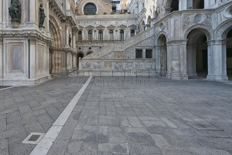 Venice Ducal Palace royalty free stock image
