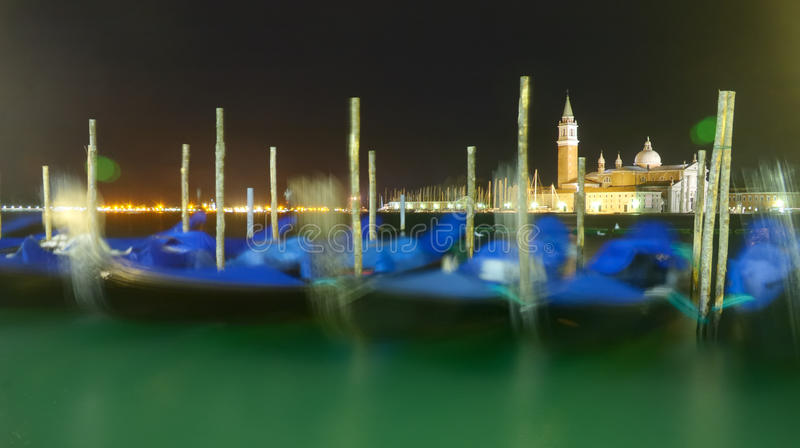 Download Venice Gondloa In The Evening Royalty Free Stock Photography - Image: 24730927